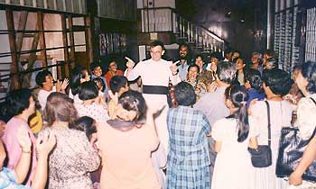 Fr. Rostand bids farewell to Manila