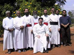 Indian and Asian priests