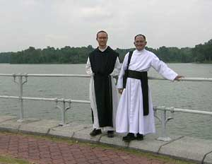 priests at sea wall