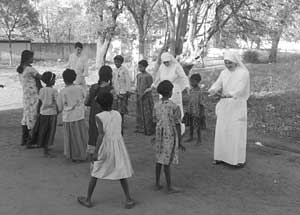 Italian Consoling Sisters adopting the Indian Orphans